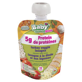 Baby Gourmet Baby Food - Turkey Veggie Lasagna - 128ml