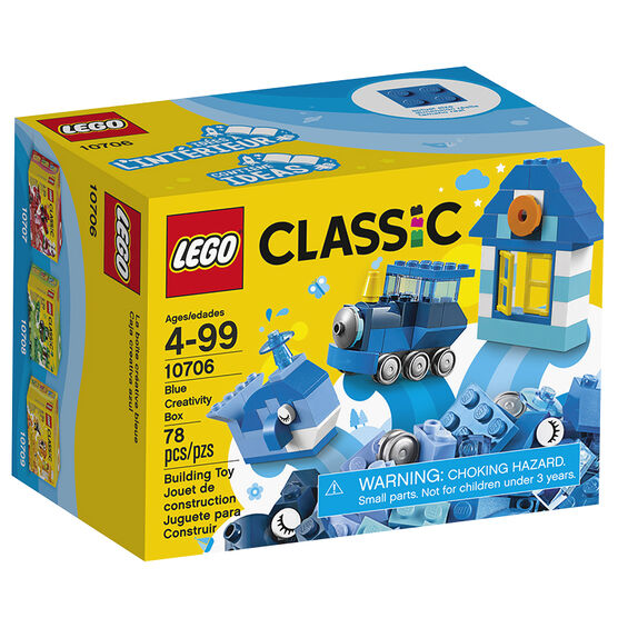 Lego Classic - Blue Creativity Box