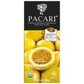 Pacari Organic Chocolate Bar - Passion Fruit - 50g
