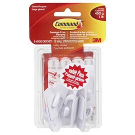 Command™ Small Hooks Value Pack - 6's