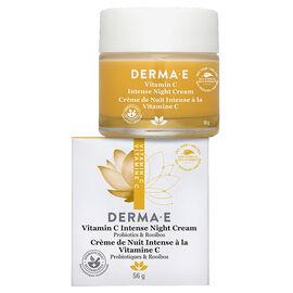 Derma E Vitamin C Intense Night Cream - 56g
