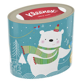 Kleenex Holiday Tissues Oval - Assorted - 50's