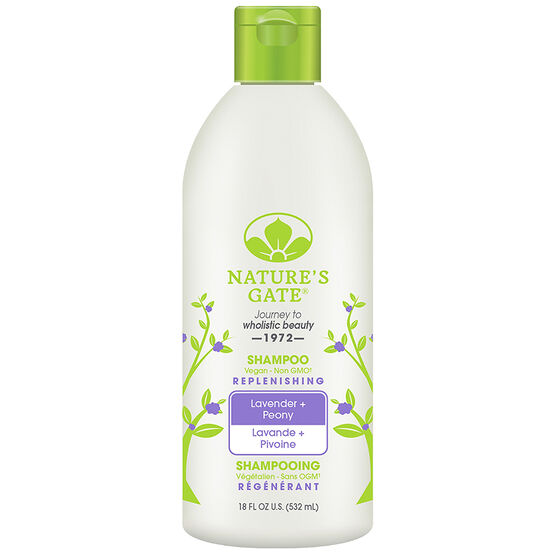 Nature's Gate Shine Replenishing Shampoo - Lavender & Peony - 532ml
