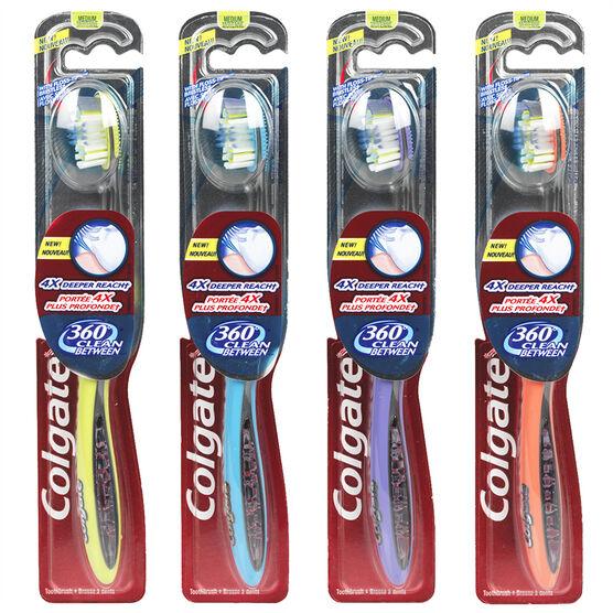 Colgate 360° Clean Between Toothbrush - Medium