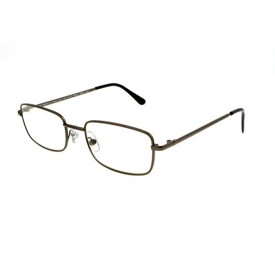 Foster Grant Jacob Reading Glasses - Gunmetal - 3.25