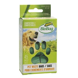 BioBag Dog Waste Bags On A Roll - 45 bags