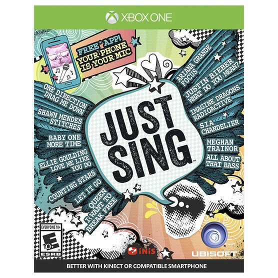 Xbox One Just Sing