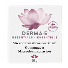 Derma E Essentials Microdermabrasion Scrub - 56g