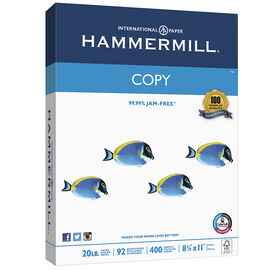 Hammermill Copy Paper - 8.5 x 11inch - 400 sheets
