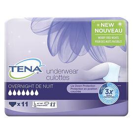 Tena Overnight Underwear - Large - 11's