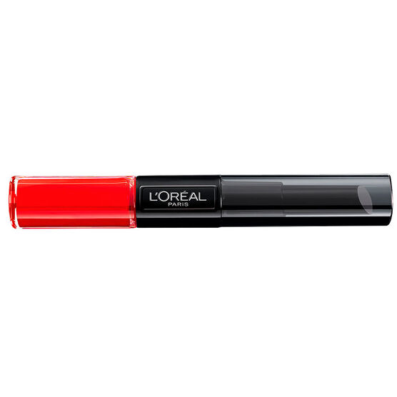 L'Oreal Infallible Two-Step Lipstick - Infallible Red
