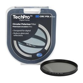 TechPro DS 67mm Circular Polarizer Filter - FIMSCPBL67-CB