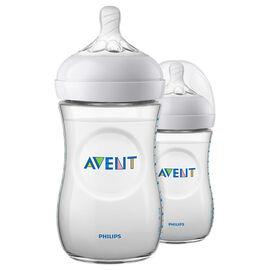 Avent Natural Bottles - 2 x 260ml - SCF013/27