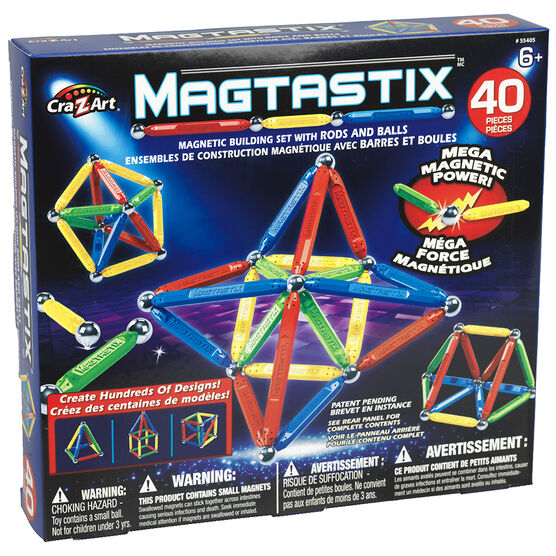 Magtastix Balls and Rods - 40 pieces