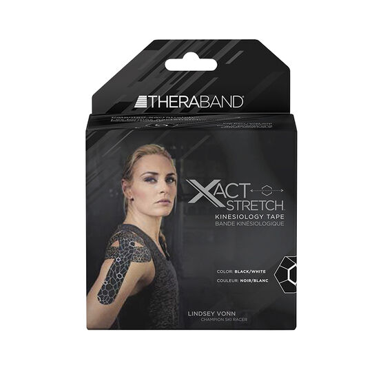 Theraband Kinesiology Tape - Black & White - 20's