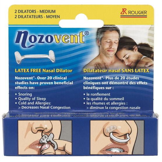 Rougier Nozovent Latex Free Nasal Dilator - 2's