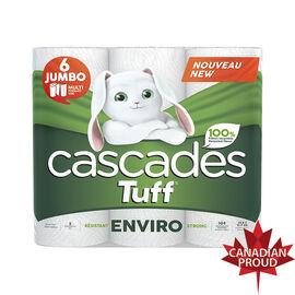Cascades Tuff Enviro Jumbo Paper Towels - 6's