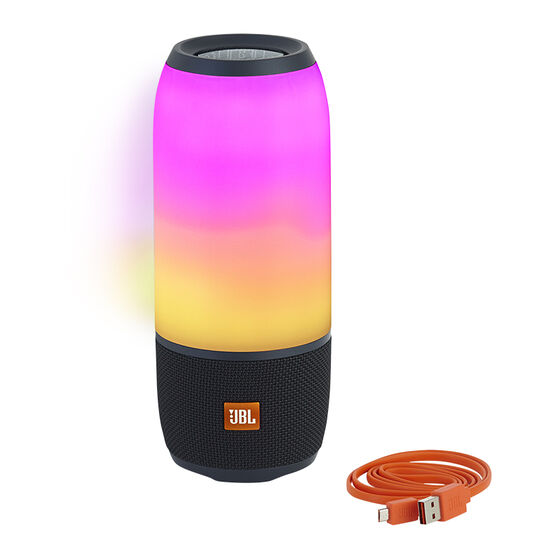 JBL Pulse 3 Portable Bluetooth Speaker - Black - JBLPULSE3BLKAM