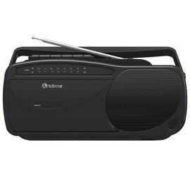 Borne AM/FM Cassette Player - Black - PRCST100