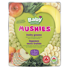 Baby Gourmet Mushies - Fruity Greens - 23g
