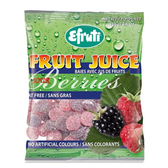 Efruti Sour Fruit Juice Berries - 100g