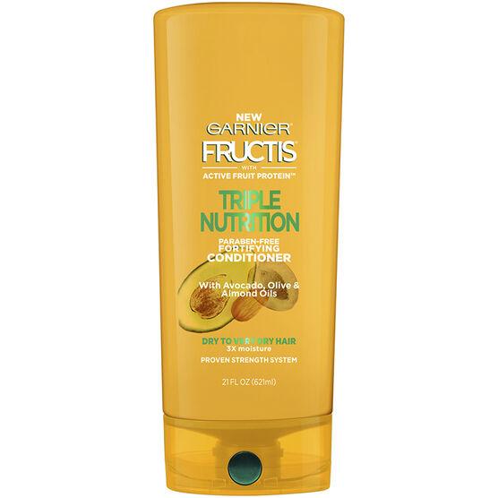 Garnier Fructis Triple Nutrition Conditioner - 621ml