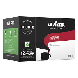 K-Cup Lavazza Classico - Cafe Veloute Medium Roast - 12 Pack