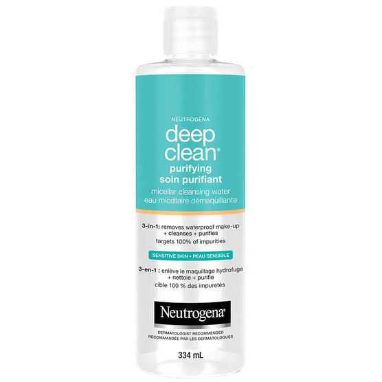 Neutrogena Deep Clean Purifying Micellar Cleansing Water - 354ml