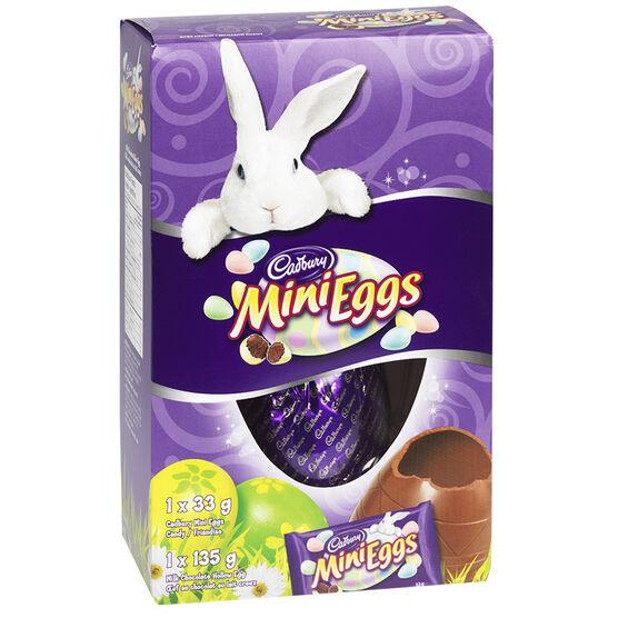 Cadbury Hollow Chocolate Egg with Mini Eggs - 174g