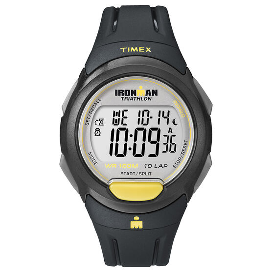 Timex Ironman 10 Lap Watch - Grey - T5K779GP