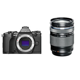 Olympus E-M5 MKII Body with 14-150mm Lens - Black - PKG #11326