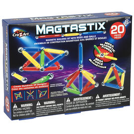 Magtastix Balls and Rods - 20 pieces