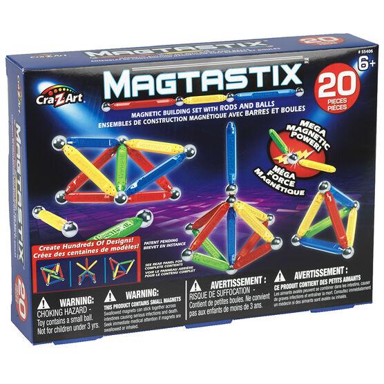 Magtastix Balls and Rods - 20 pieces