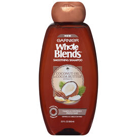 Garnier Whole Blends Soothing Shampoo - Coconut Oil & Coconut Butter - 650ml