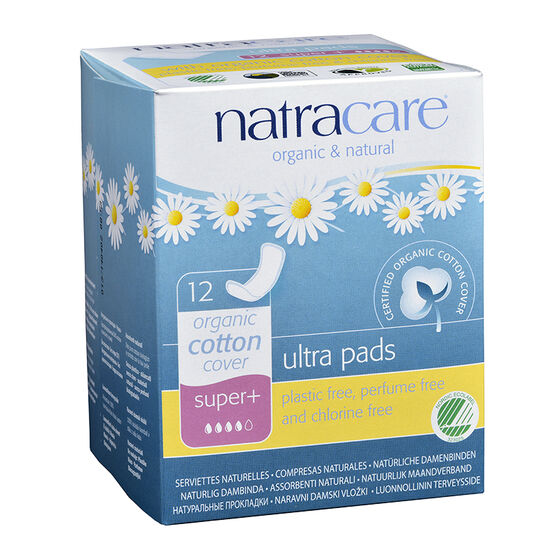 Natracare Natural Ultra Pads - Super Plus - 12 pack