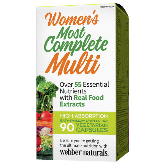 Webber Naturals Women's Most Complete Multi - 90's