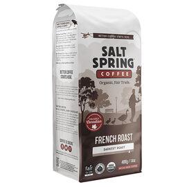 Salt Spring Coffee French Roast - Darkest Roast - Whole Bean - 400g