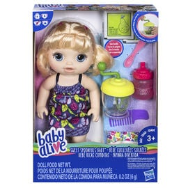 Baby Alive Spoonfuls - Blonde