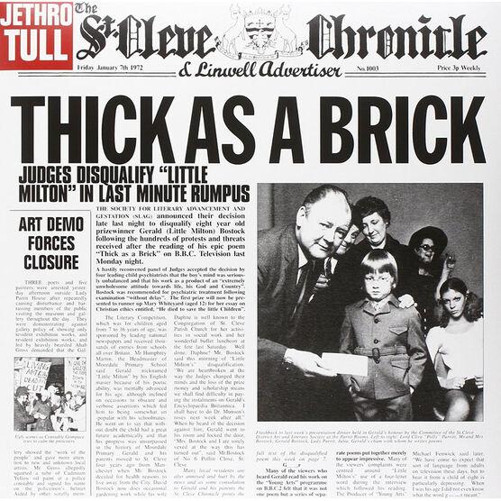 Jethro Tull - Thick As A Brick - Vinyl