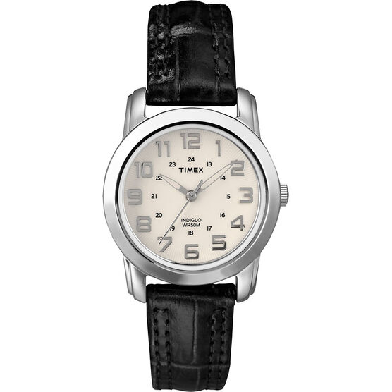 Timex Mid-Size Collection - Black/Silver - T2N435GP