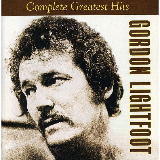Gordon Lightfoot - Complete Greatest Hits - CD