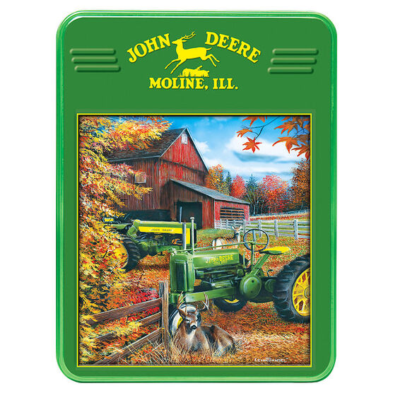 John Deere Tractor Puzzle Tin - 1000 pieces
