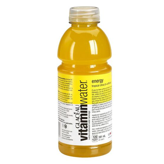 Glaceau Vitamin Water Energy - Tropical Citrus - 591ml