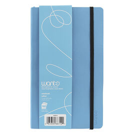 Want Notebook - Blue - 192 sheets