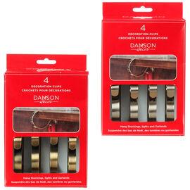 Danson Stocking Holder - 4.5inch - 4 pack