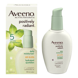 Aveeno Active Naturals Positively Radiant Daily Moisturizer - SPF 15 - 120ml
