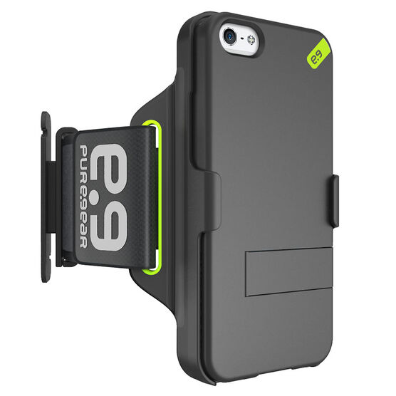 PureGear HIP Sport Armband for iPhone 5/5s/SE - Black - PG60994PG