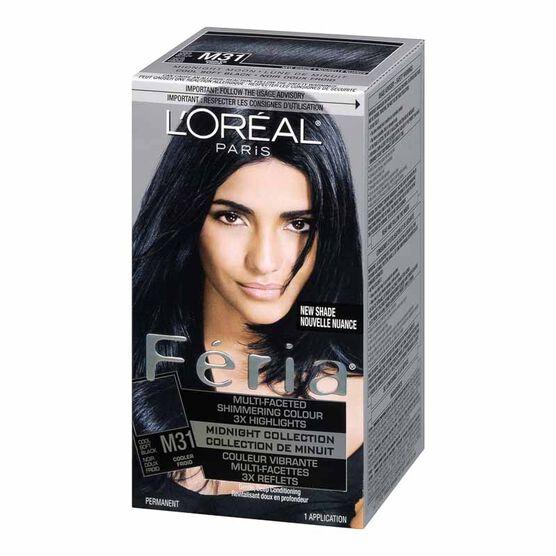 L'Oreal Feria Hair Colour - M31 Midnight Moon
