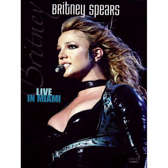 Britney Spears - Live in Miami - DVD