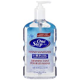 One Step Original Hand SanitizerWith Pump - 473ml